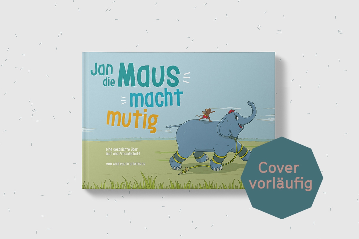 Autor Buchcover Die Maus Und Der Elefant